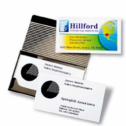 Do-It-Yourself Business Cards