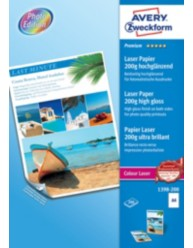 Farvelaser fotopapir A4, superior glossy, 200g