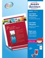 Farvelaser fotopapir A4, premium glossy, 150g