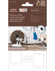 Cable markers - Permanent adhesion For in/outside use For Handwriting
