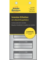 Etichette per inventario ultra resistenti  prestampate scrivibili a mano