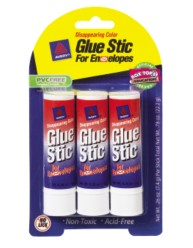 Disappearing Color Glue Stic for Envelopes