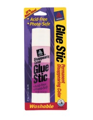 Disappearing Color Glue Stic