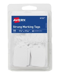 Avery® White Marking Tags 6732, Packaging Image