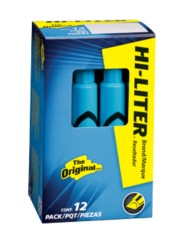 HI-LITER® Desk-Style Highlighters 7746, Packaging Image