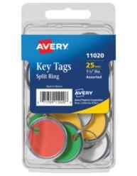 Avery Metal Rim Tags 11020