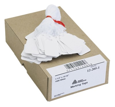 White Marking Tags 12205