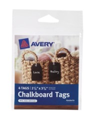 Avery® Chalkboard Tags 12375, Packaging Image