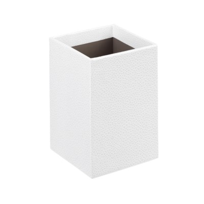 MSHO Shagreen Pencil Cup, White 13221