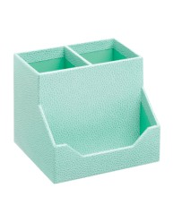 Martha Stewart Home Office™ with Avery™ Stack+Fit™ Shagreen Pencil Cup and Card Holder 13253, Application Image