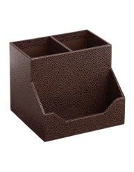 Martha Stewart Home Office™ with Avery™ Stack+Fit™ Shagreen Pencil Cup and Card Holder 13290, Application Image