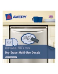 Avery® Dry Erase Multi-Use Decals 22214, Packaging Image