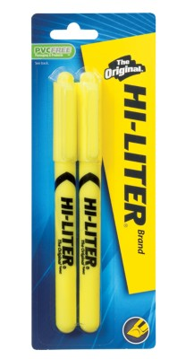 HI-LITER Pen Style Highlighter 23521