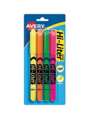 Avery Hi-Liter Highlighters 23545