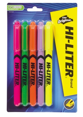 HI-LITER Pen Style Highlighter 23555