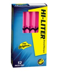 HI-LITER® Pen-Style Highlighters 23592, Packaging Image
