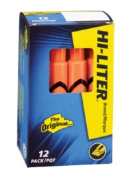 HI-LITER® Desk-Style Highlighters 24050, Packaging Image
