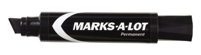 Avery® Marks-A-Lot® Jumbo Chisel Tip Permanent Marker 24148, Black