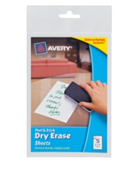 Avery Dry Erase Decals 24300, Packaging Image