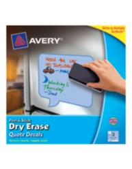 Avery Peel & Stick Dry Erase Sheets 24308, Packaging Image