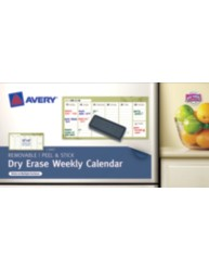 Avery® Dry Erase Weekly Calendar 24383, Packaging Image