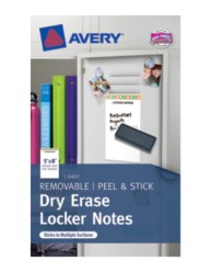 Avery® Dry Erase Locker Notes 24387, Packaging Image