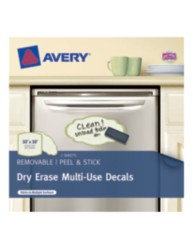 Avery® Dry Erase Multi-Use Decals 24399, Packaging Image