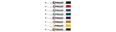Marks-A-Lot® Dry Erase Marker Set 24411, Pack of 8