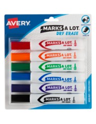 Avery Marks A Lot Dry Erase Markers