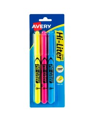 Avery Hi-Liter Desk Style Highlighters 25860