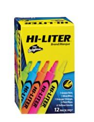 HI-LITER® Desk-Style Highlighters 98034, Packaging Image