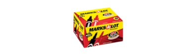 Avery® Marks-A-Lot® Regular Desk Style Permanent Marker Set 98187, Assorted, Pack of 24