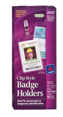 Badge Holders - Portrait 2920
