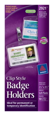 Badge Holders - Landscape 2921