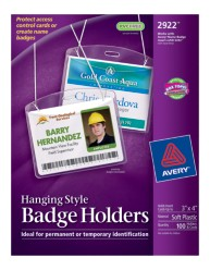 Avery Badge Holders - Neck Hanging Style
