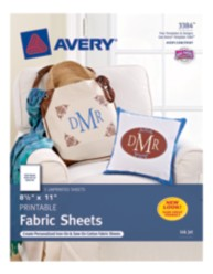 Avery Printable Cotton 3384 Packaging Image