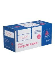 White Mailing Labels