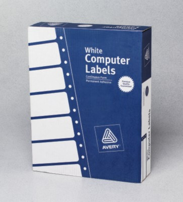 White Mailing Labels 4021