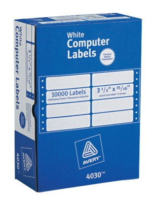 White Mailing Labels 4030