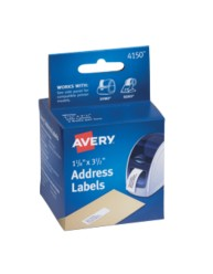 Avery® Address Labels for Dymo® and Seiko® Printers 4150, Packaging Image