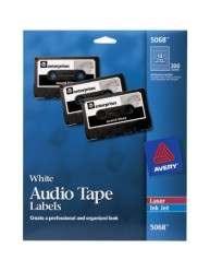 Avery Audio Tape Labels
