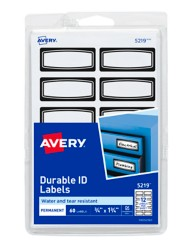 Avery Durable ID Labels 05219
