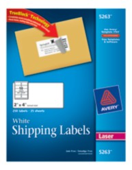 Avery Shipping Labels 5263 Packaging Image