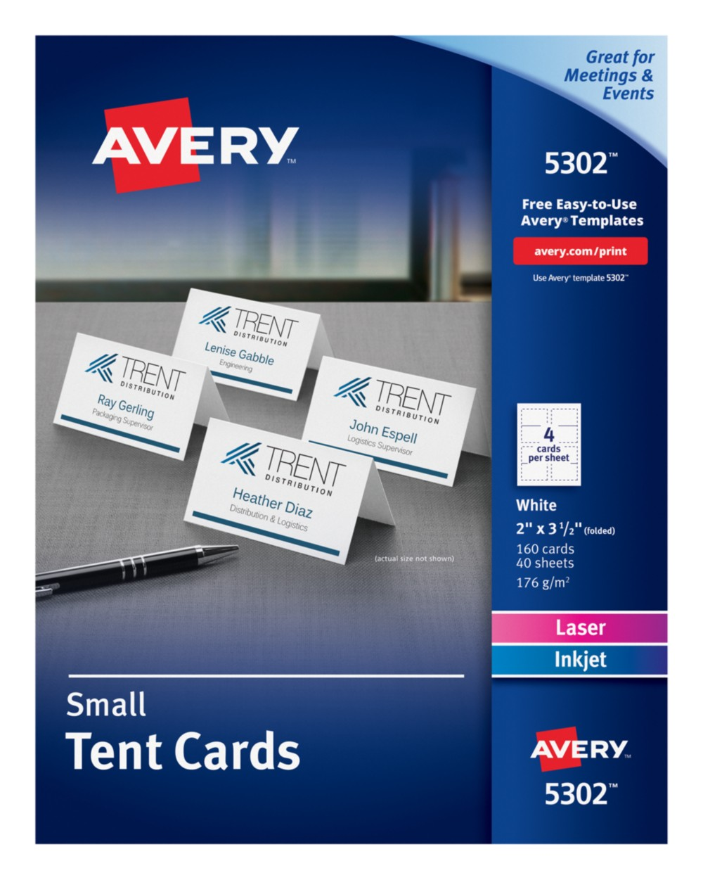Small Tent Cards