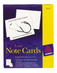 Avery Note Cards 5315 Packaging Image