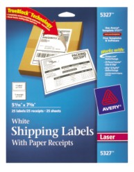 Avery Shipping Labels 5327 Packaging Image