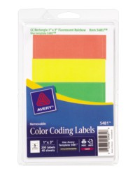 Print or Write Color Coding Labels