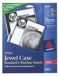 Avery cd jewel case inserts for Avery dvd case template