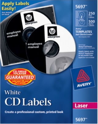 Avery CD Labels 5697