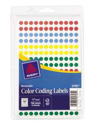 Color Coding Labels 5795
